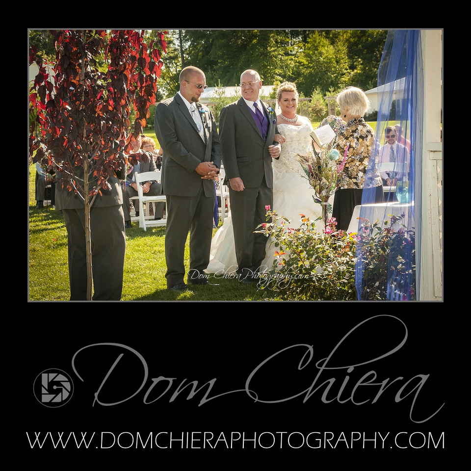 Wedding at Waters Edge Vineyard