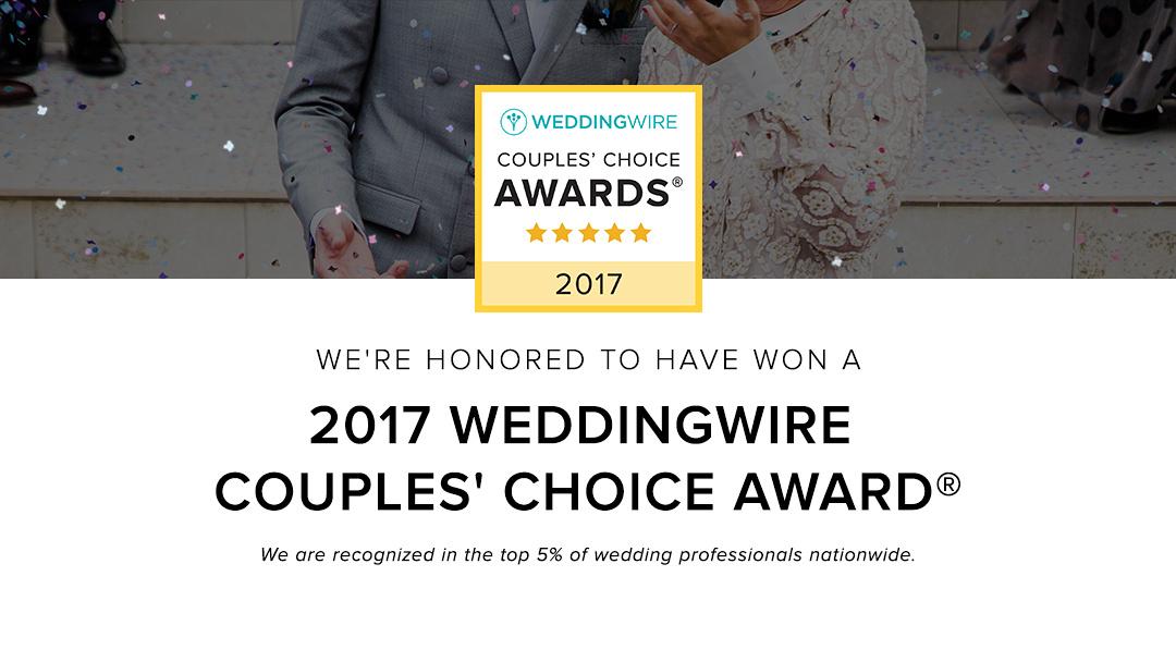 Dom Chiera Photography WeddingWire Award 2017