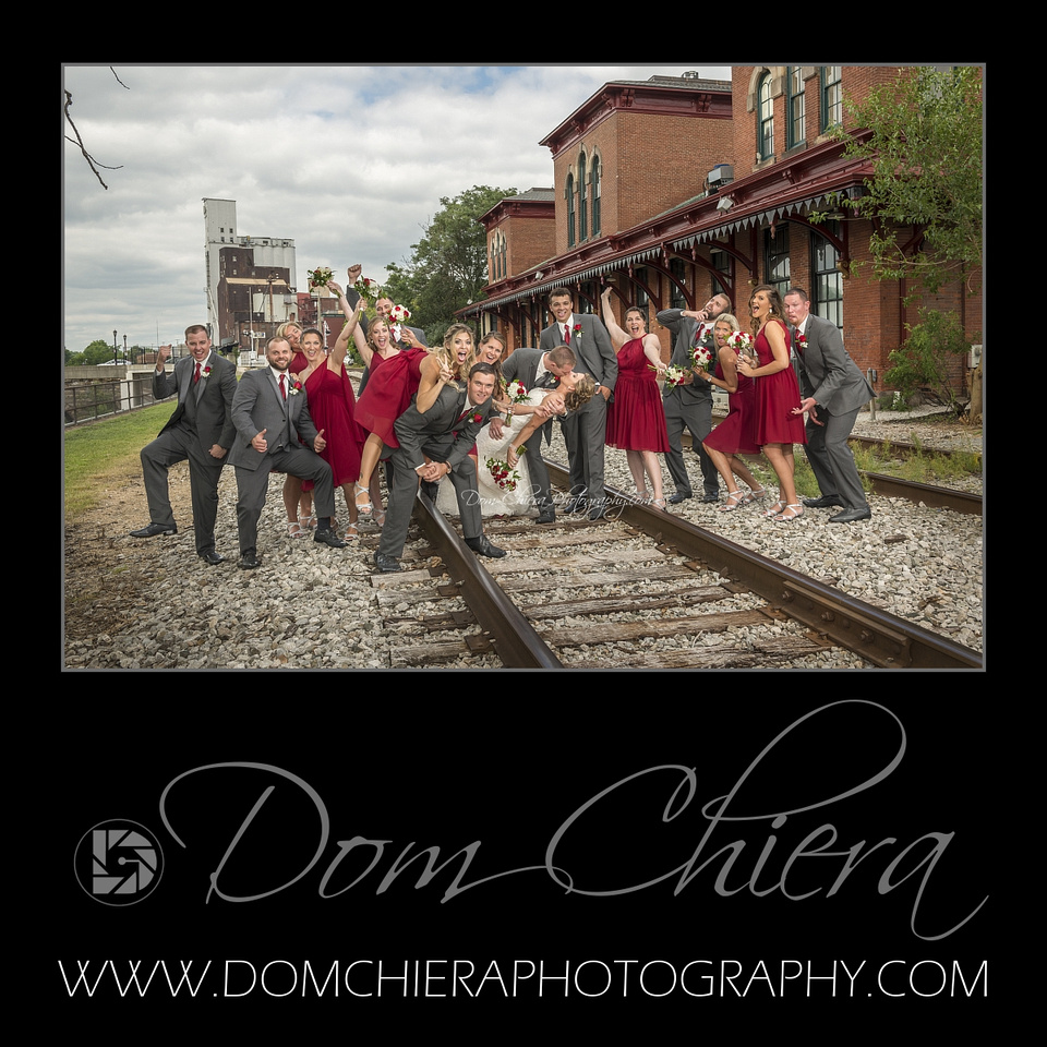 Wedding in Downtown Kent,OH