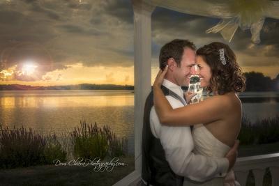 SpringLake Party Center Wedding Sunset