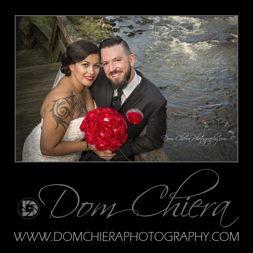 Cuyahoga Falls River Boardwalk Wedding